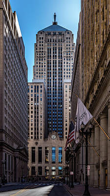 Photograph - Chicago Board Of Trade by Randy Scherkenbach