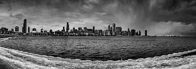Popular Rustic Neutral Tones - Chicago by Bob Nardi