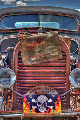 Photograph - Chicago Bob's Rat Rod 2 by Tony Baca