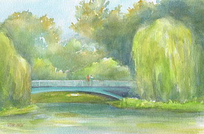 Wall Art - Painting - Chicago Botanic Garden by Debra LePage