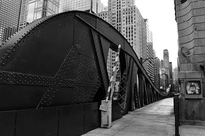Photograph - Chicago Bridge  by Joseph Caban