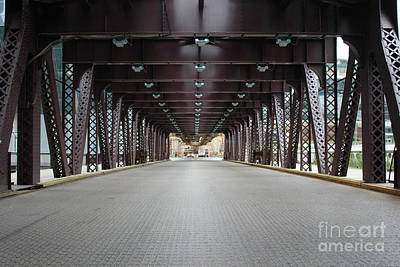 Photograph - Chicago Bridges by Wilko Van de Kamp