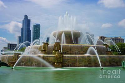 Photograph - Chicago Buckingham by Jennifer White