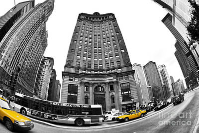 Photograph - Chicago Cab Fusion by John Rizzuto