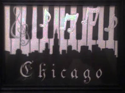 Chicago Skyline Mixed Media - Chicago by Chris Hedges