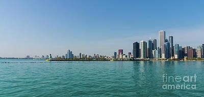 Photograph - Chicago City Pano by Jennifer White