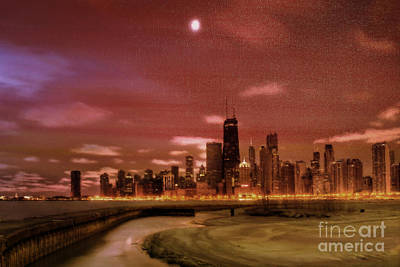 Chicago City View  Original by Gull G