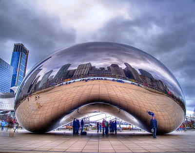 Photograph - Chicago Cloud Gate by Tammy Wetzel
