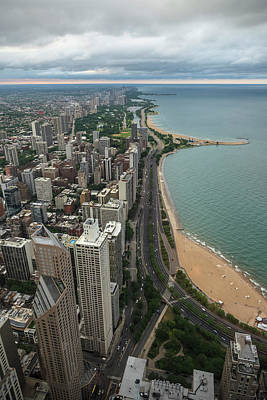 Photograph - Chicago Coast by Ryan Heffron
