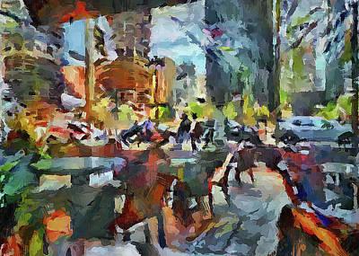 Digital Art - Chicago Color Impressions by Yury Malkov