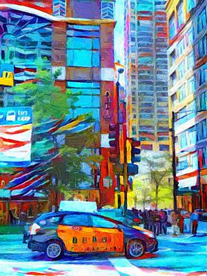 Digital Art - Chicago Colors 1 by Yury Malkov