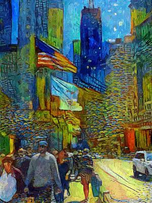 Digital Art - Chicago Colors 2 by Yury Malkov