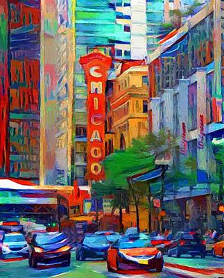 Digital Art - Chicago Colors 3 by Yury Malkov