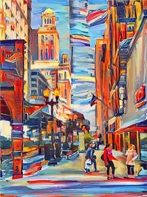 Digital Art - Chicago Colors 4 by Yury Malkov