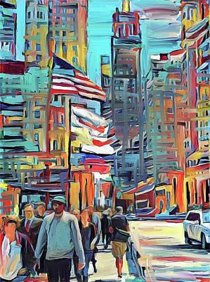 Digital Art - Chicago Colors 5 by Yury Malkov
