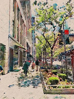 Digital Art - Chicago Colors 6 by Yury Malkov