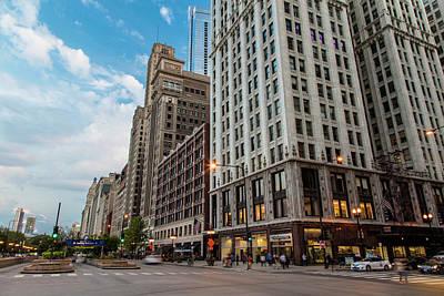 Photograph - Chicago Corner by John McGraw