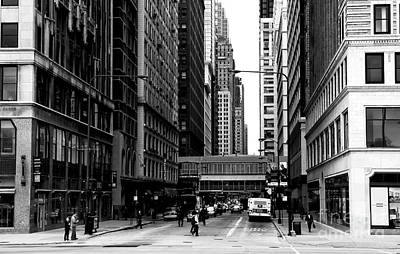 Photograph - Chicago Crossing by John Rizzuto