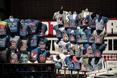 Photograph - Chicago Cubs Consessions by David Bearden