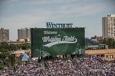 Photograph - Chicago Cubs Wrigley Field - 2 by David Bearden