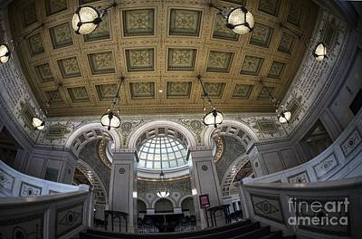 Photograph - Chicago Cultural Center by David Bearden