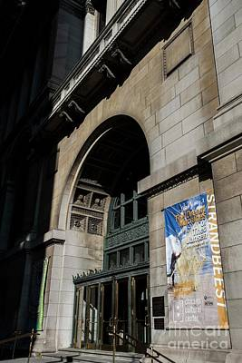 Photograph - Chicago Culture Center - Two by David Bearden