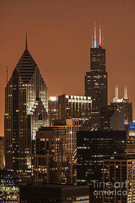 Photograph - Chicago - D009810 by Daniel Dempster