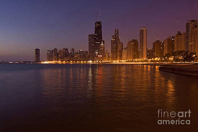 Chicago Dawn Print by Sven Brogren