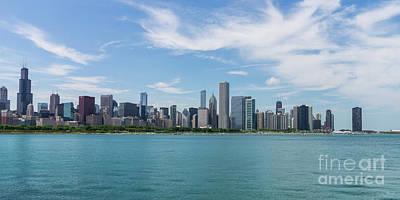 Photograph - Chicago Day Cityscape by Jennifer White