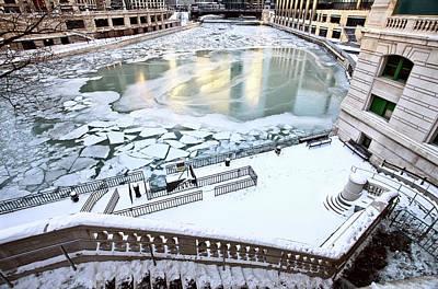 Lake Michigan Digital Art - Chicago Downtown City  by Mark Duffy