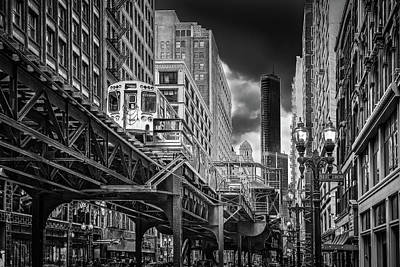 Photograph - Chicago E.l. by Patrice Bilesimo