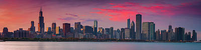 Photograph - Chicago  by Emmanuel Panagiotakis