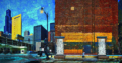 Painting - Chicago Enchantment by Judith Barath