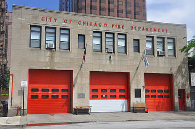 Photograph - Chicago Fire by Daniel Ness