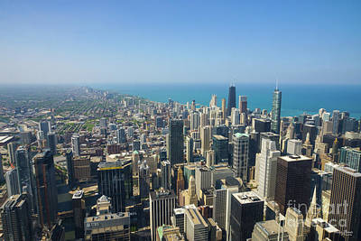 Photograph - Chicago From Above by Jennifer White
