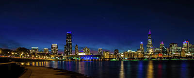 Photograph - Chicago From Adler Planetarium by April Reppucci