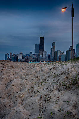 Water St Chicago Photograph - Chicago From North Avenue Beach by Mike Burgquist