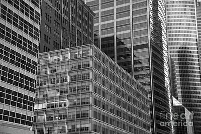 Photograph - Chicago Glass by David Bearden