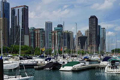 Photograph - Chicago Harbor by Jennifer White