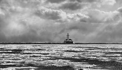 Photograph - Chicago Harbor Light by Barry Cole