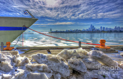 Chicago Photograph - Chicago Harbor Southeast Lighthouse by Kevin Oconnell