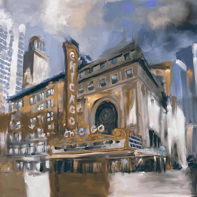 Chicago II 474 IIi Art Print by Mawra Tahreem