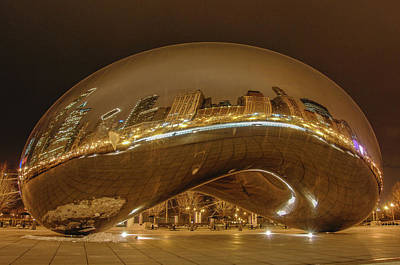 Photograph - Chicago In A Bubble by Michael Bessler
