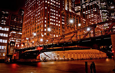 Photograph - Chicago In Extreme by Linda Unger