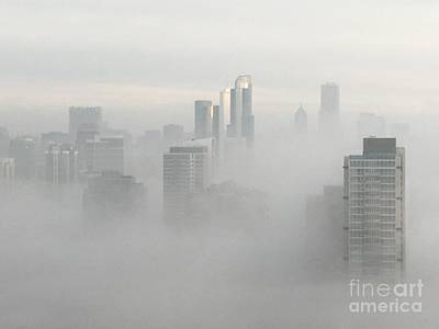 Photograph - Chicago In The Clouds by Kate Purdy