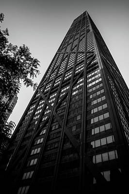 Photograph - Chicago - John Hancock by Miguel Winterpacht