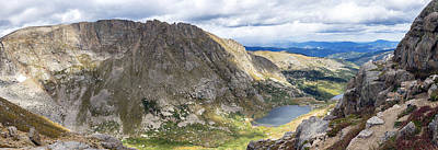Photograph - Chicago Lake Basin Overlook by Lynn Palmer