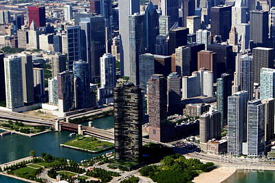 Photograph - Chicago Lakefront Living by Bill Lang