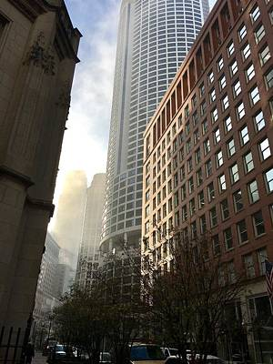 Photograph - Chicago Light 2 by Carrie Godwin