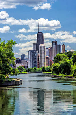 Chicago Lincoln Park Lagoon Art Print